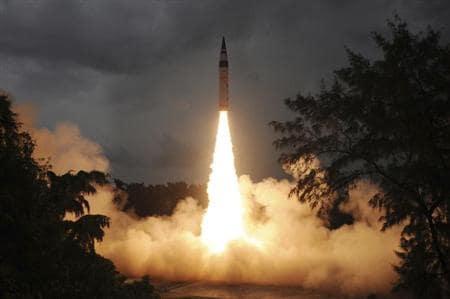 Agni-IV成功测试了Odisha海岸