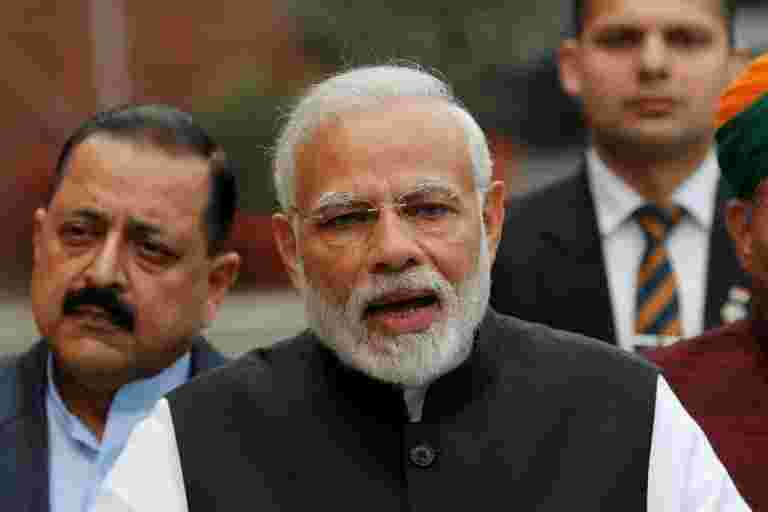 Modi说,只有NDA才能实现持续高增长,莫尔
