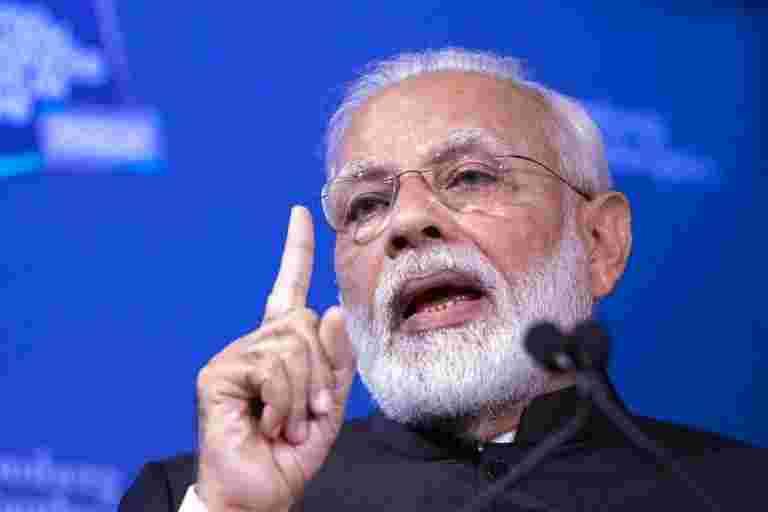 竞争吸引投资的国家说,PM Modi说
