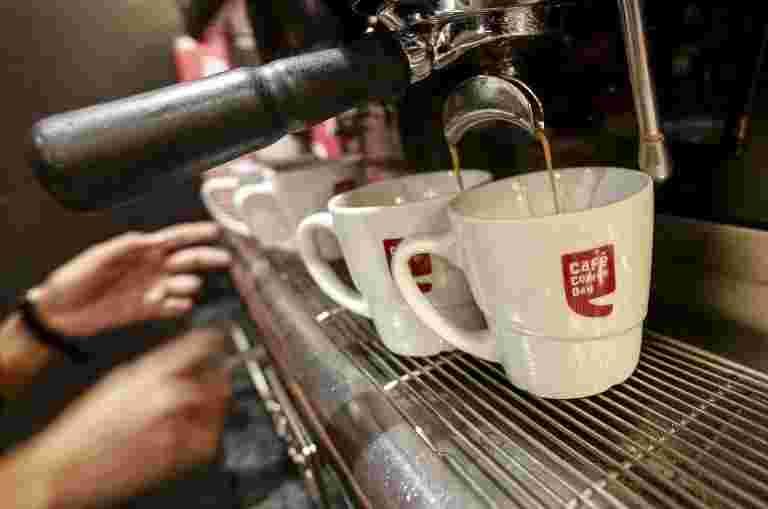 咖啡日企业延迟Q2结果引用持续的探针,Sanjay Nayar退出委员会